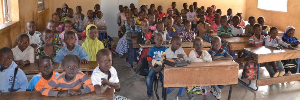 Photo de la classe de Samako (Mali)